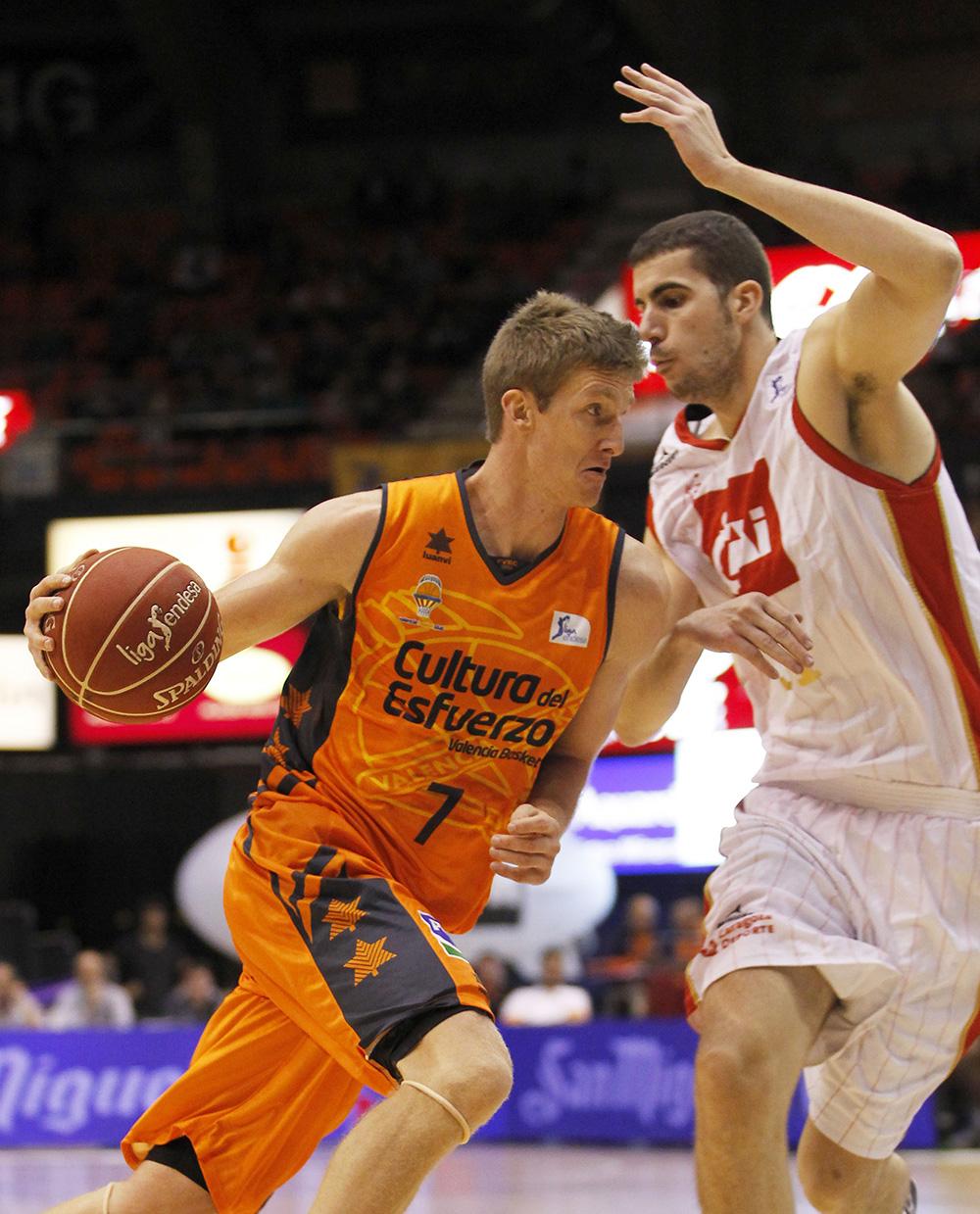 Justin Doellman jugador de endesa en viva basquet
