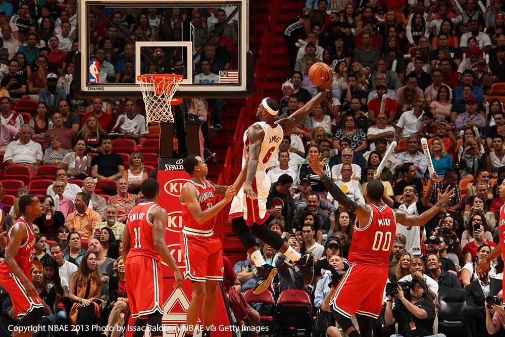 LeBron en viva basquet