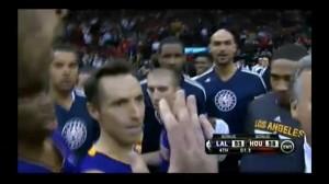 NBA Steve Blake Clutch Shot Game Winner vs Houston Rockets en viva basquet