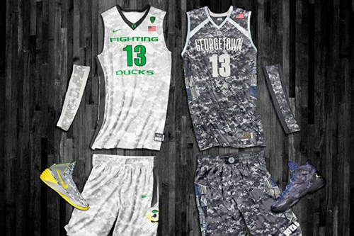 Oregon-Georgetown-Camo-Uniforms
