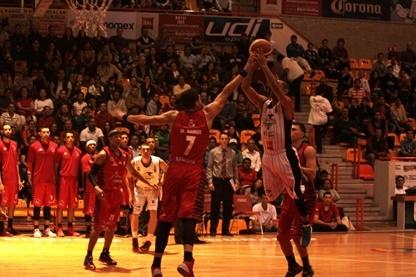 PANTERAS VS HALCONES ROJOS equipos de basquetbol en viva baquet