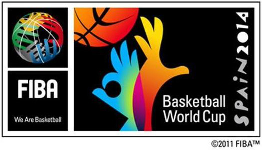logo mundial de basquetbol españa 2014