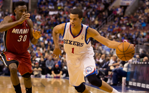 michael carter williams jugador de la NBA de basketball o basquetbol