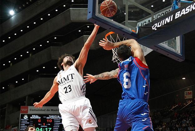 real madrid ENDESA jornada 7 en viva basquet