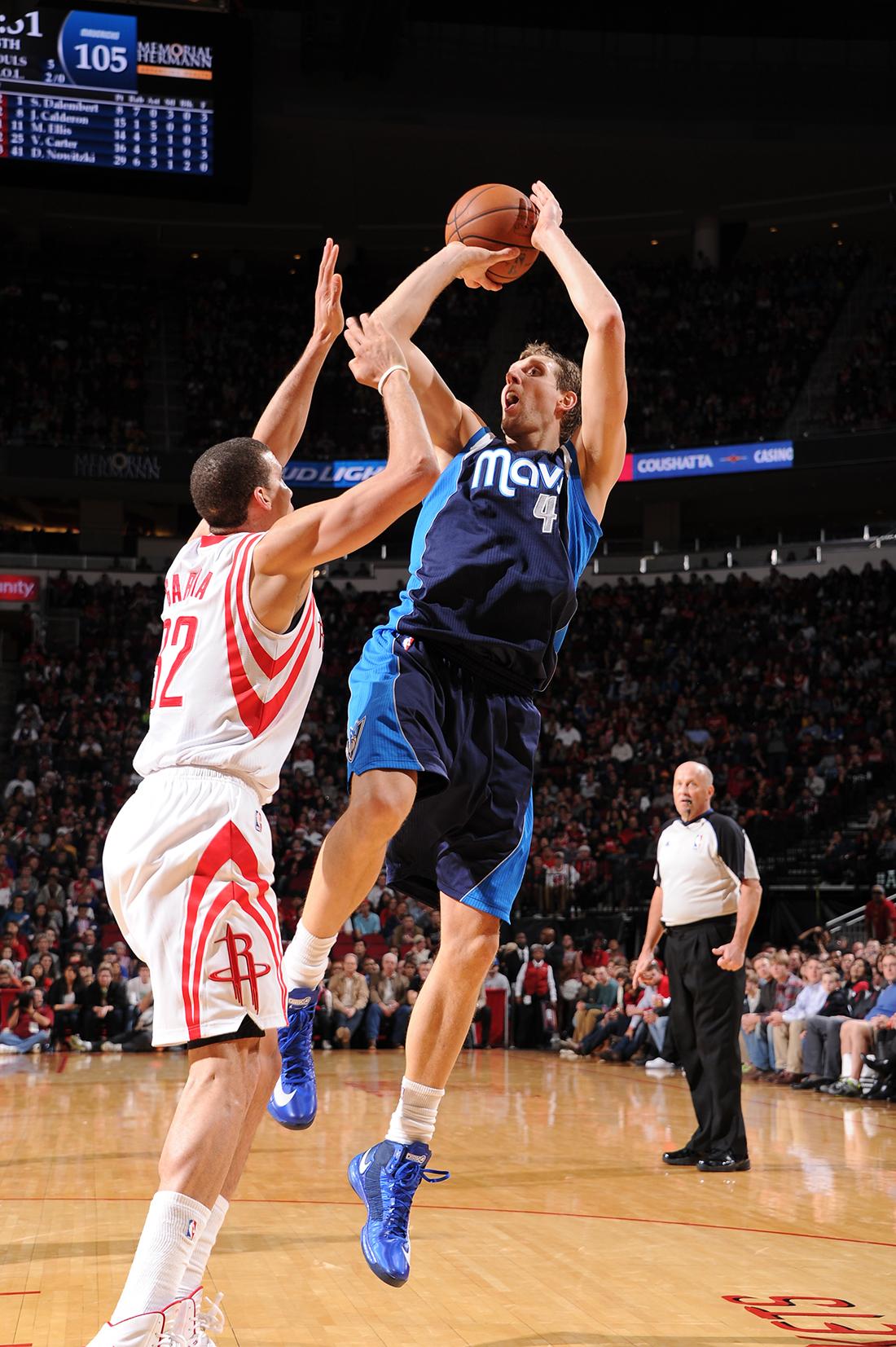 Dirk Nowitzki en viva basquet