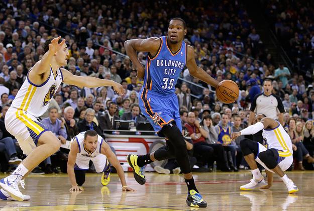 Kevin Durant jugador de basquetbol en viva basquet