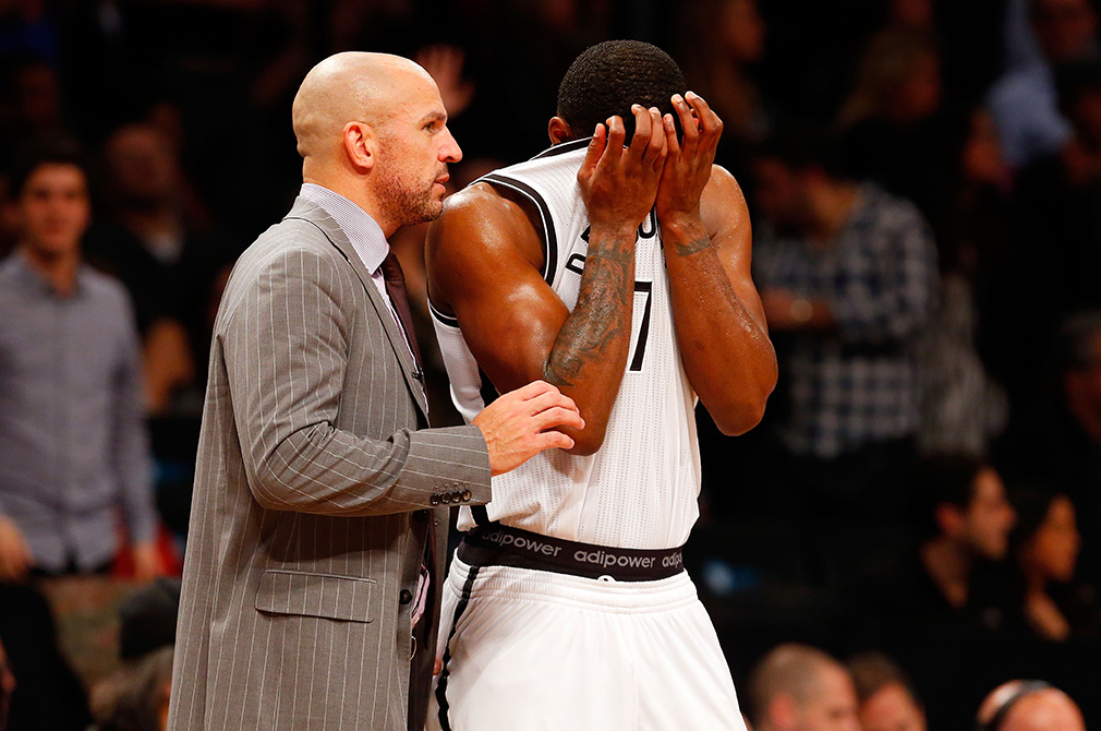 New York Knicks v Brooklyn en viva basquet