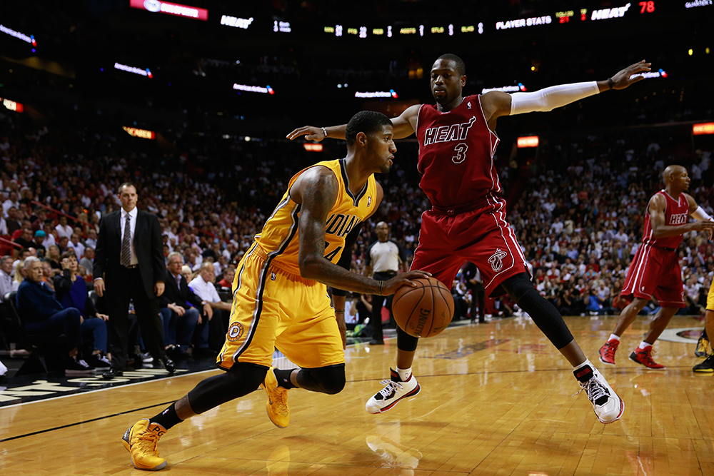 Indiana Pacers v Miami Heat en viva basquet