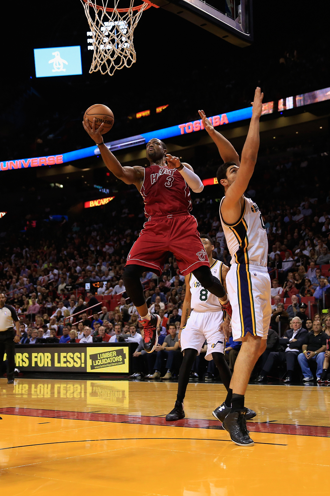 Dwyane Wade  en viva basquet