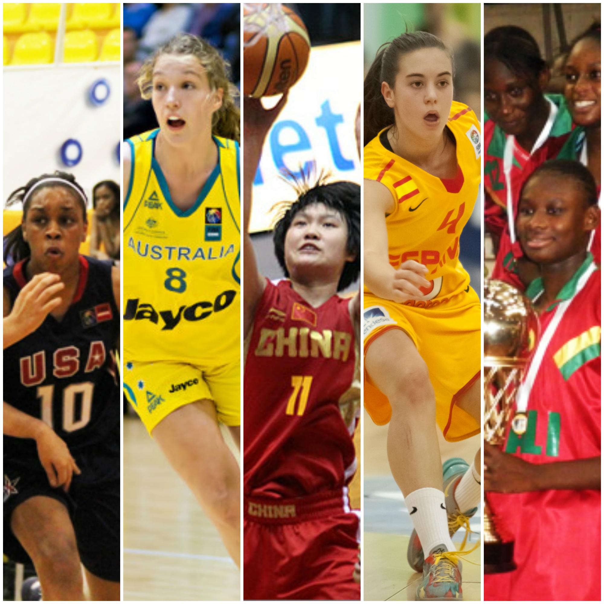 Mundial femenil FIBA SUB17 en viva basquet