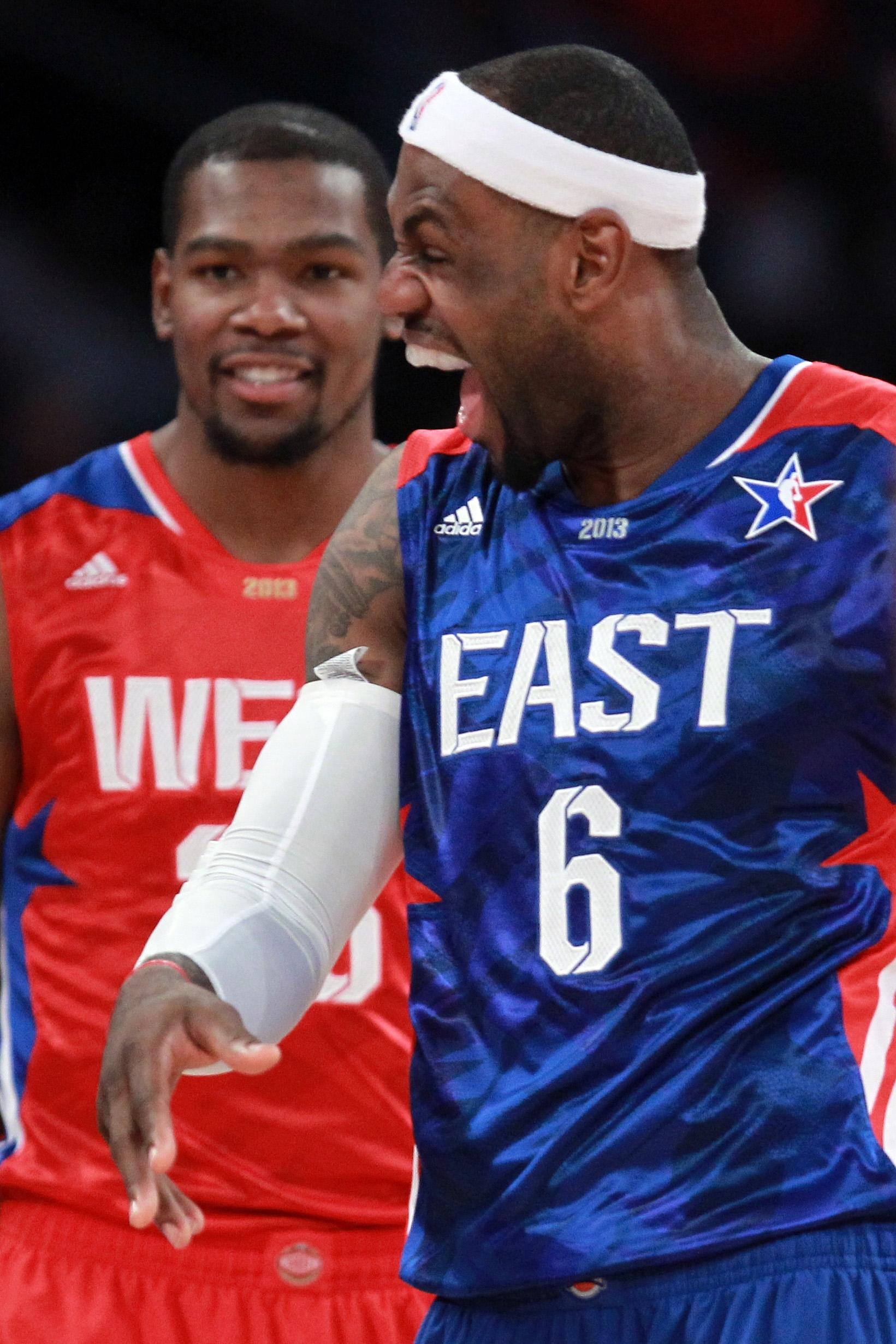 lebron james en el juego de estrellas en viva basquet