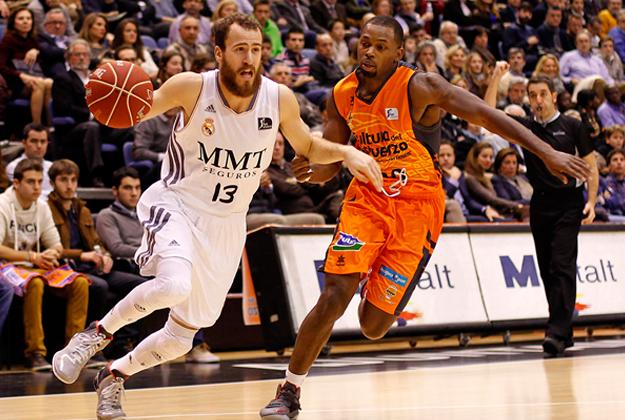 REAL MADRID en viva basquet