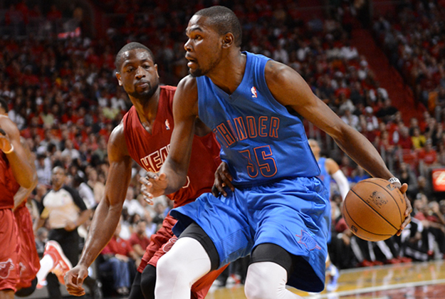 Oklahoma City Thunder v Miami Heat en viva basquet
