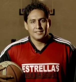 Rafa Sandoval en viva basquet