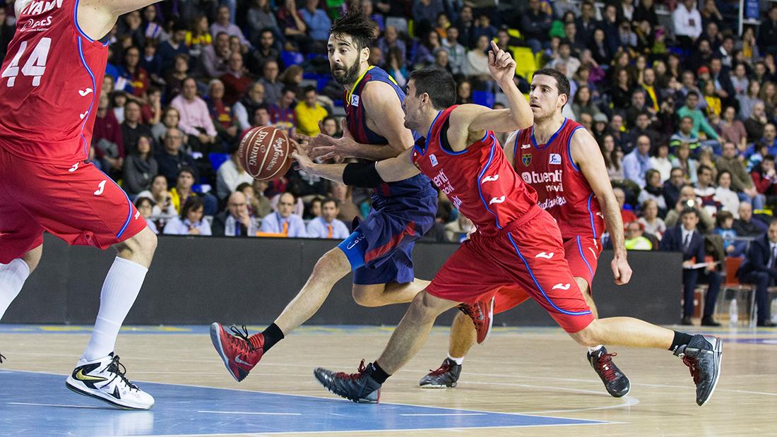 LIGA ENDESA - JORNADA 16 - FC BARCELONA - TUENTI MOVIL ESTUDIANTES en viva basquet