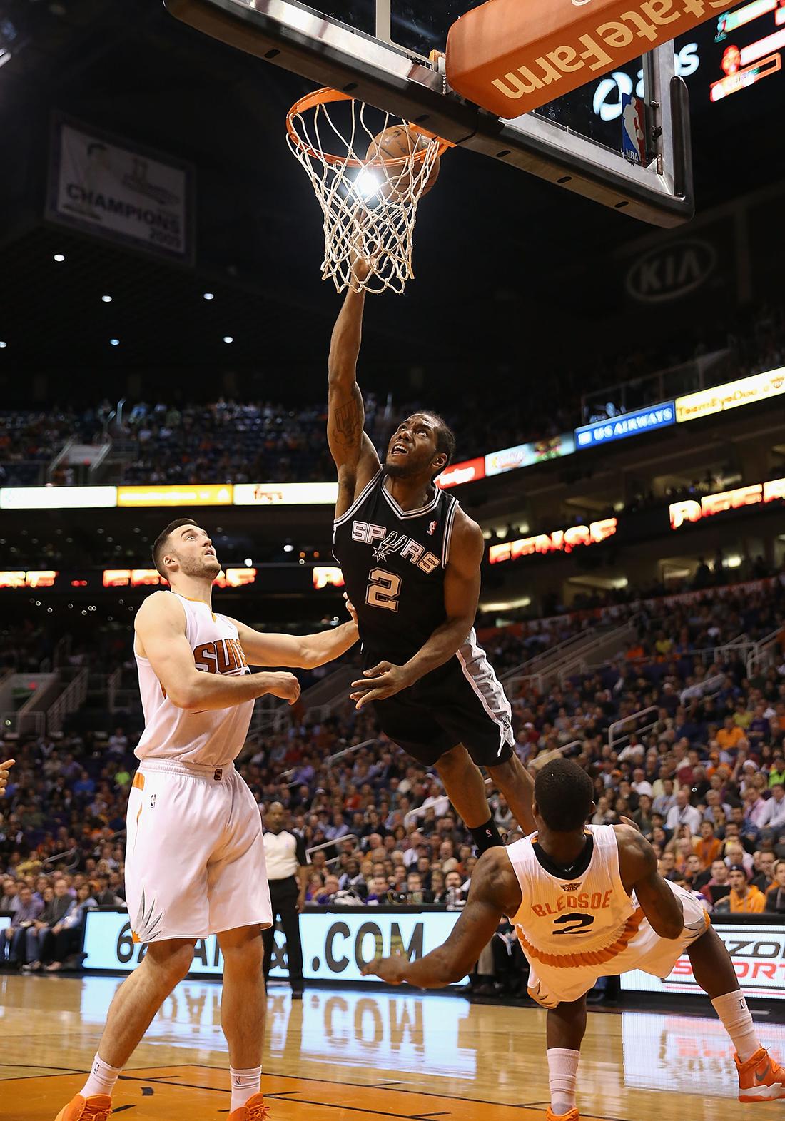 la lesion de Kawhi Leornard en viva basquet