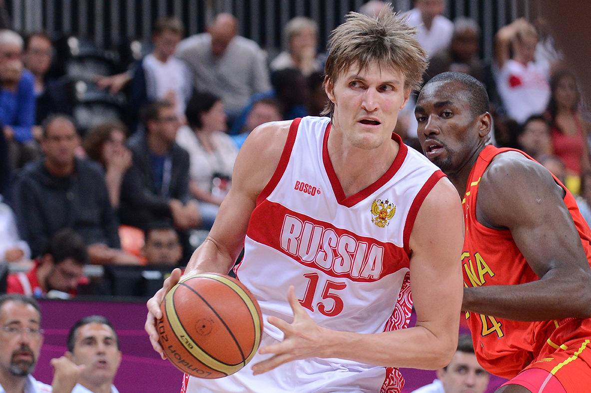 15. Andrey KIRILENKO (Russia) en viva basquet