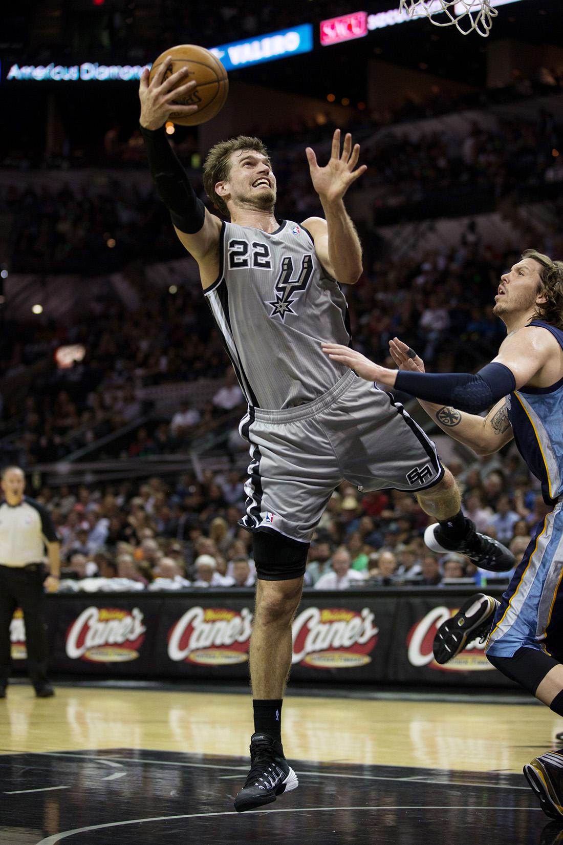 TIAGO SPLITTER en viva basquet