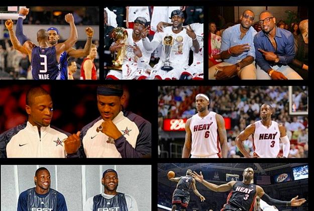 lebron felicita a wade en su cuenta de instagram en viva basquet