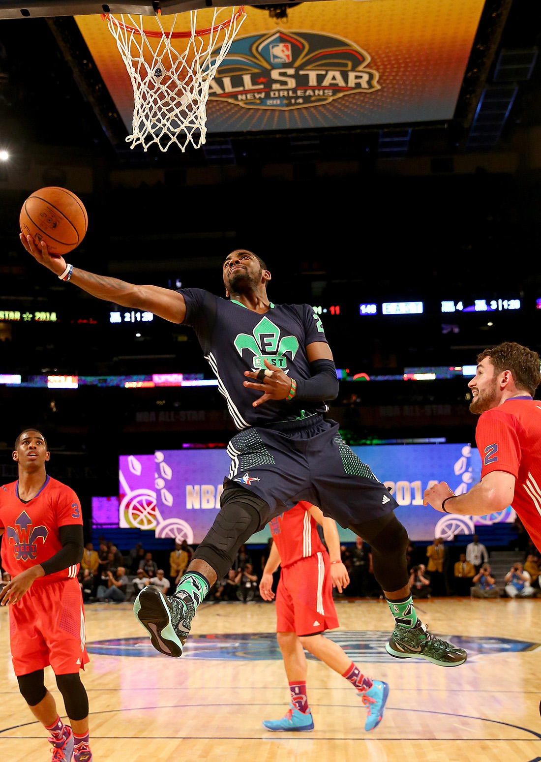 Kyrie Irving en ALL STAR game en viva basquet