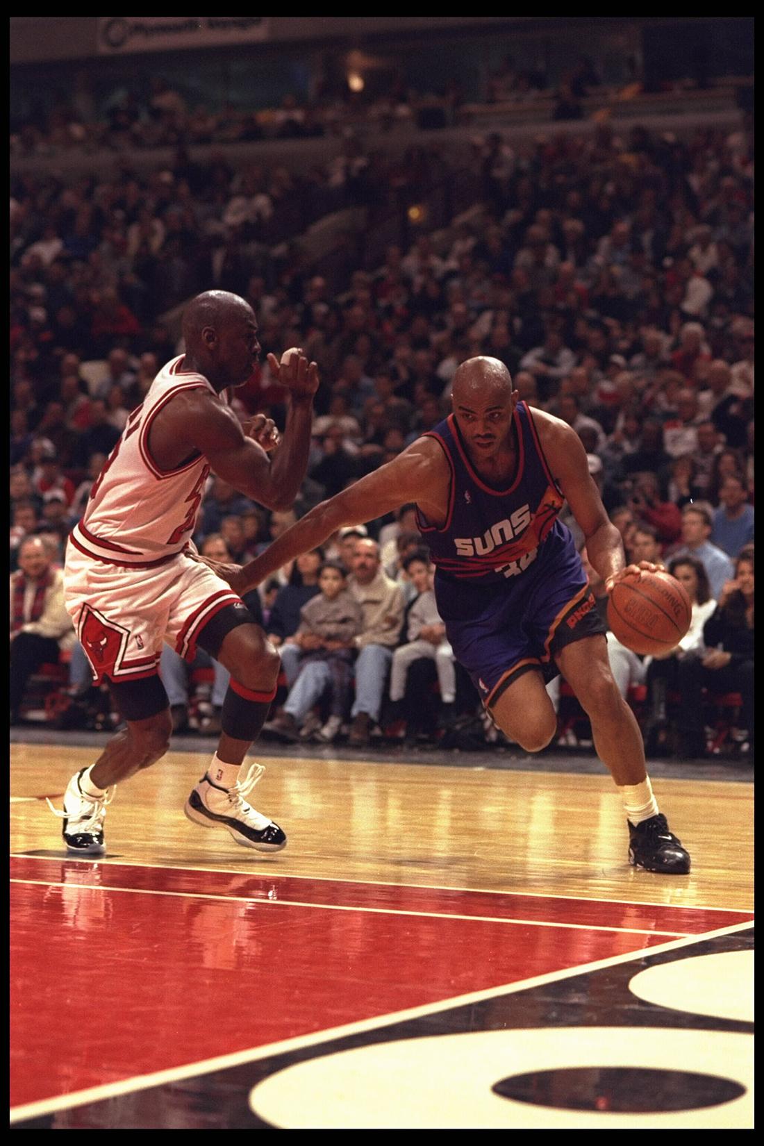 Michael Jordan & Charles Barkley en viva basquet