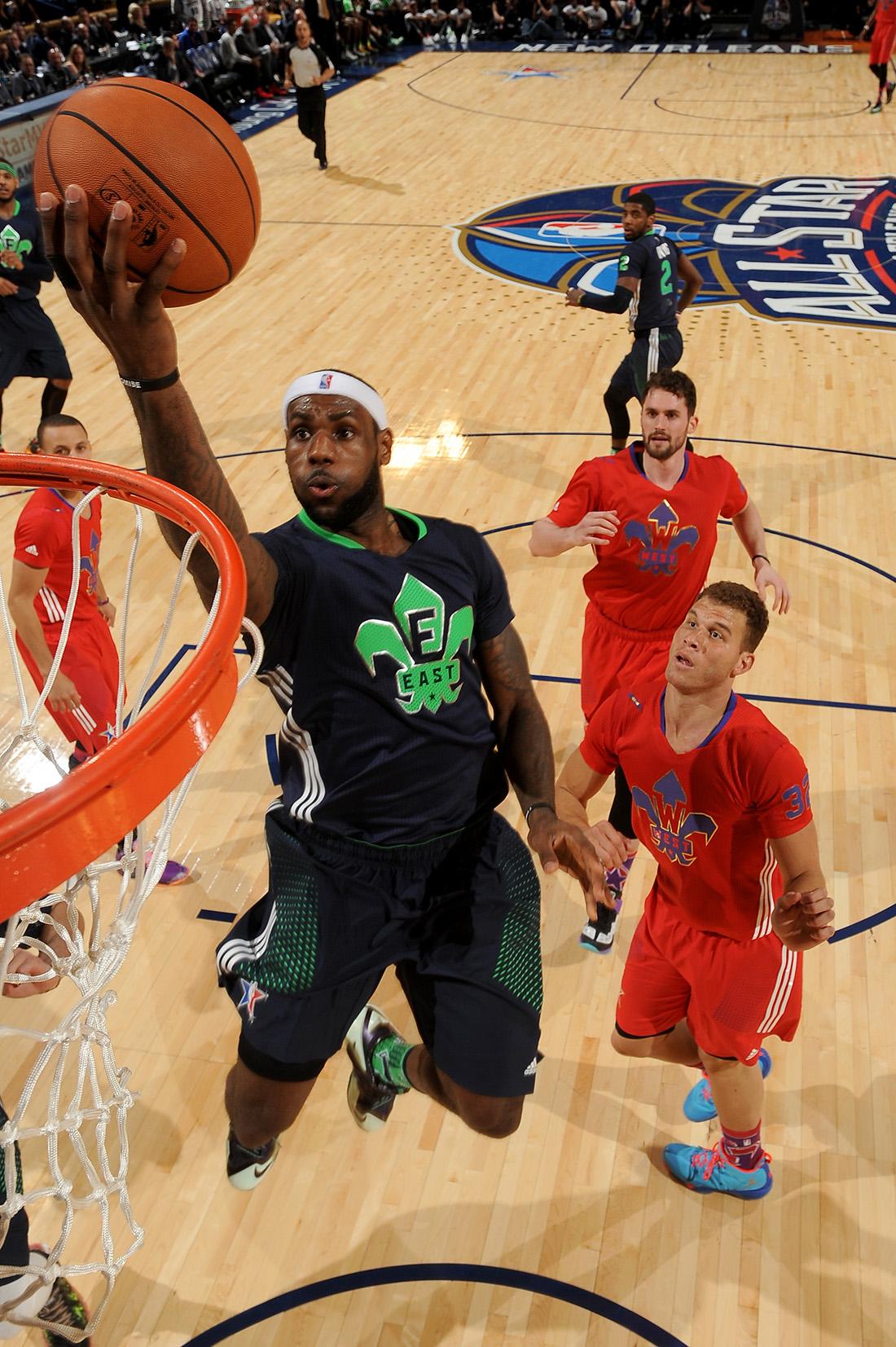LeBron James NBA All-Star Game en viva basquet