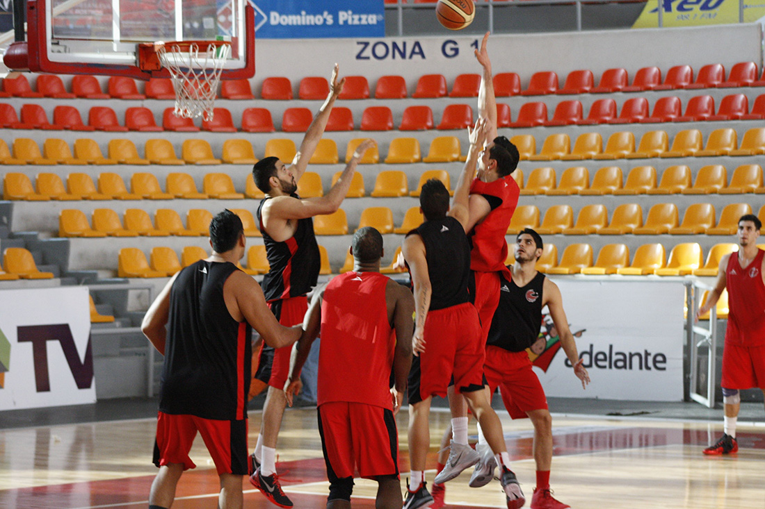 Halcones Rojos PLAYOFFS LNBP en viva basquet