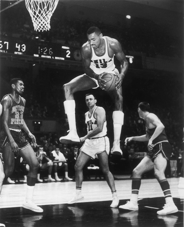 Chamberlain en viva basquet