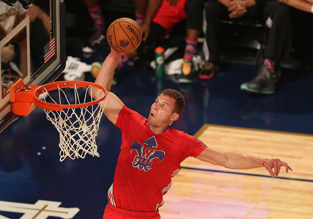 Blake Griffin en ALL STAR game en viva basquet