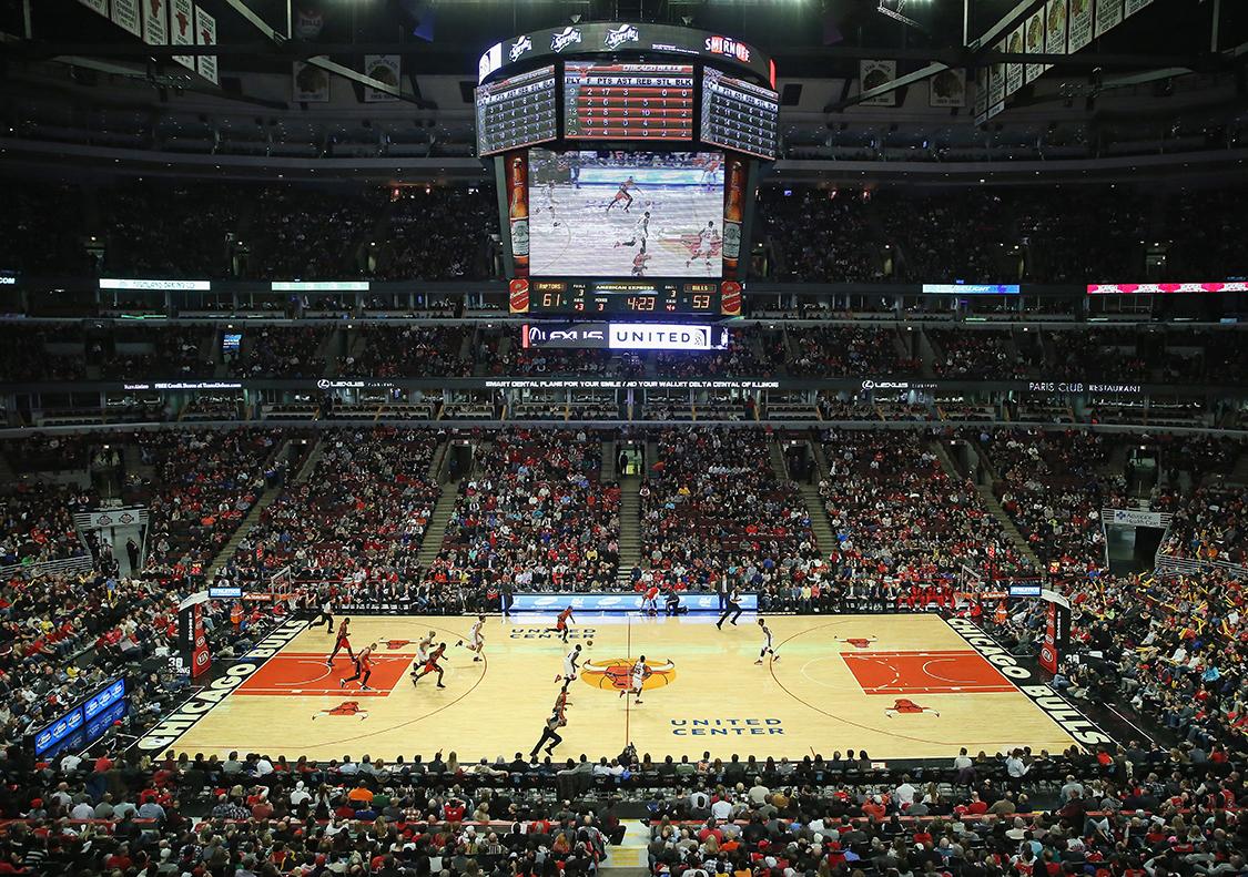 Toronto Raptors v Chicago Bulls en United Center en viva basquet