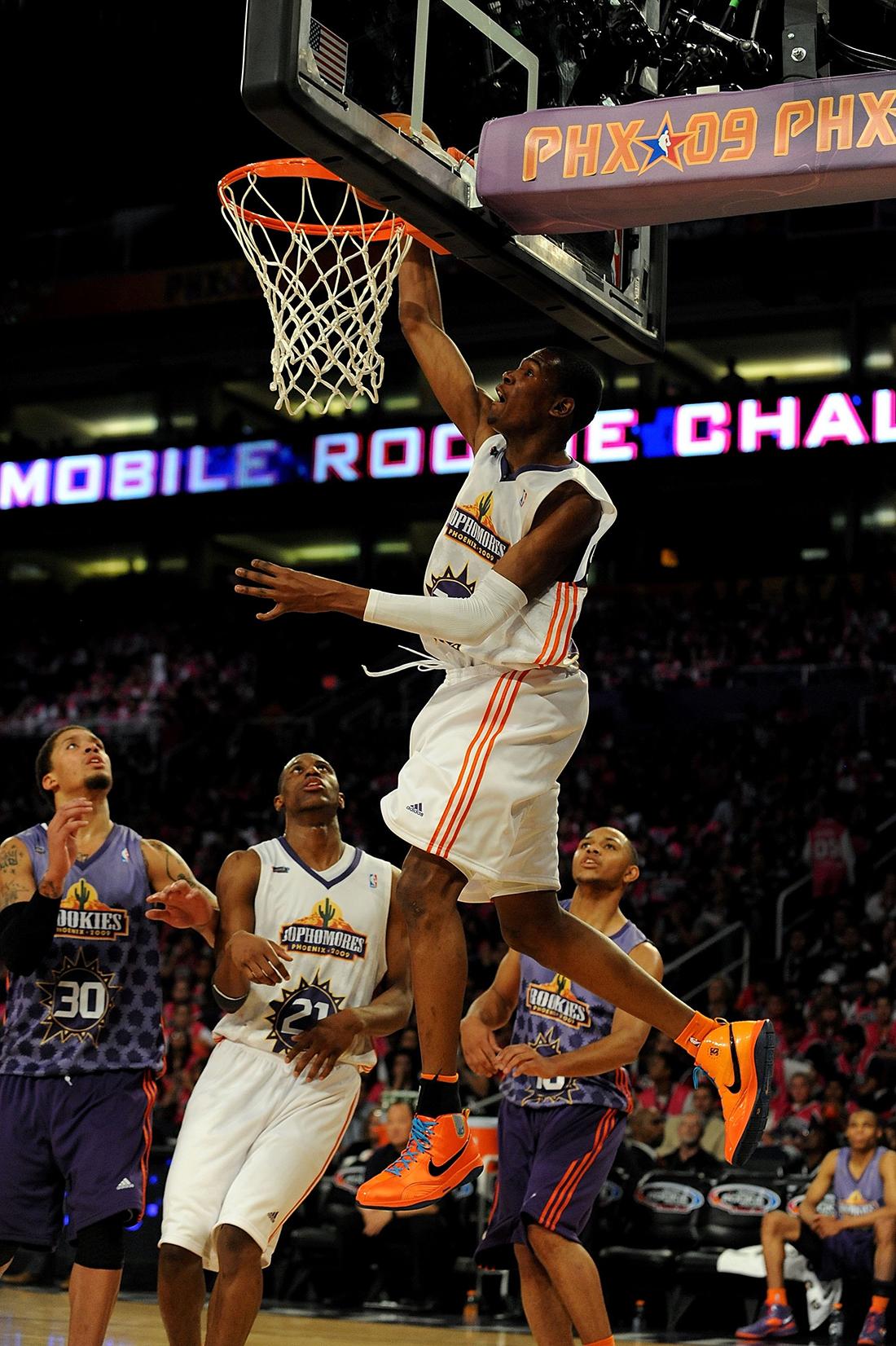 Kevin Durant en viva basquet
