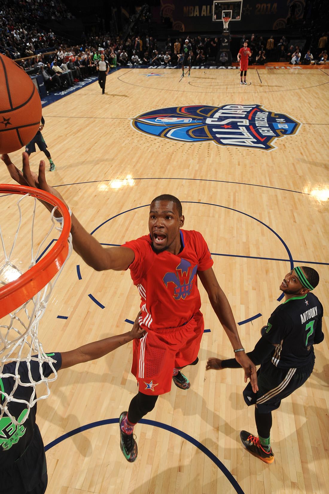 Kevin Durant NBA All-Star Game en viva basquet