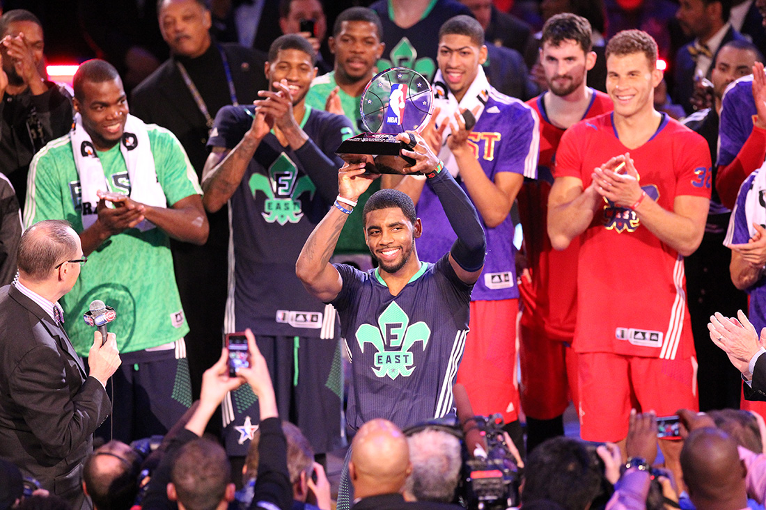 Kyrie Irving NBA All-Star Game en viva basquet