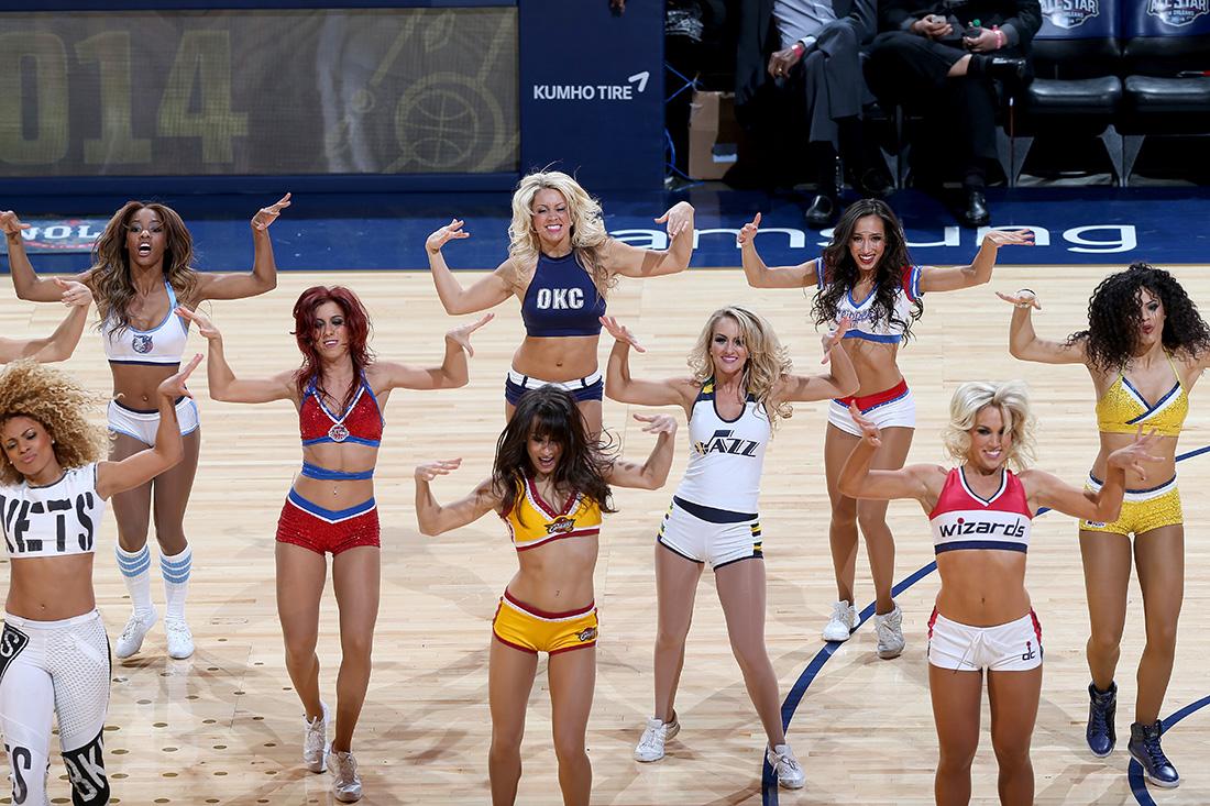 dancers NBA All-Star Game 2014 en viva basquet