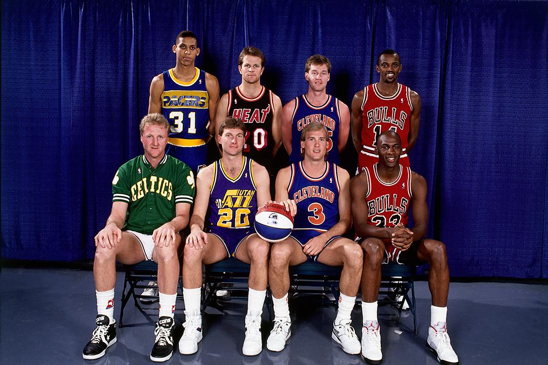 1998 NBA All-Stars: 3-Point Shooting Contestants en viva basquet