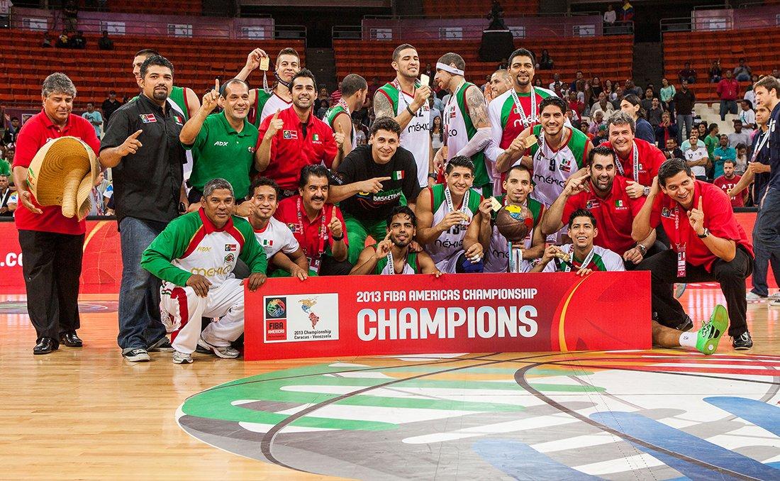 Mexico Champions. Seleccion de basquetbol mexicana en viva basquet