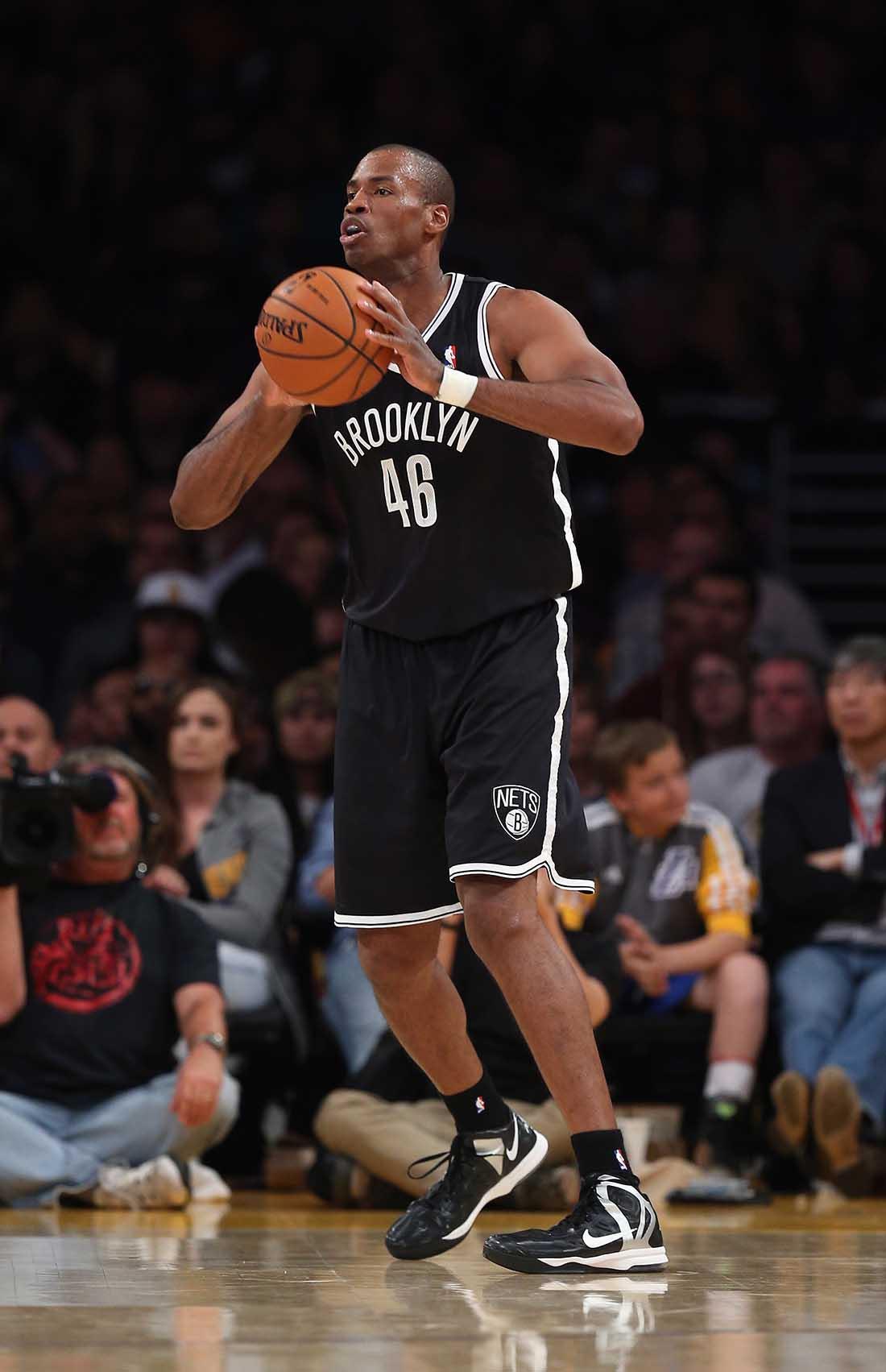 Brooklyn Nets v Los Angeles Lakers, Jason Collins en viva basquet