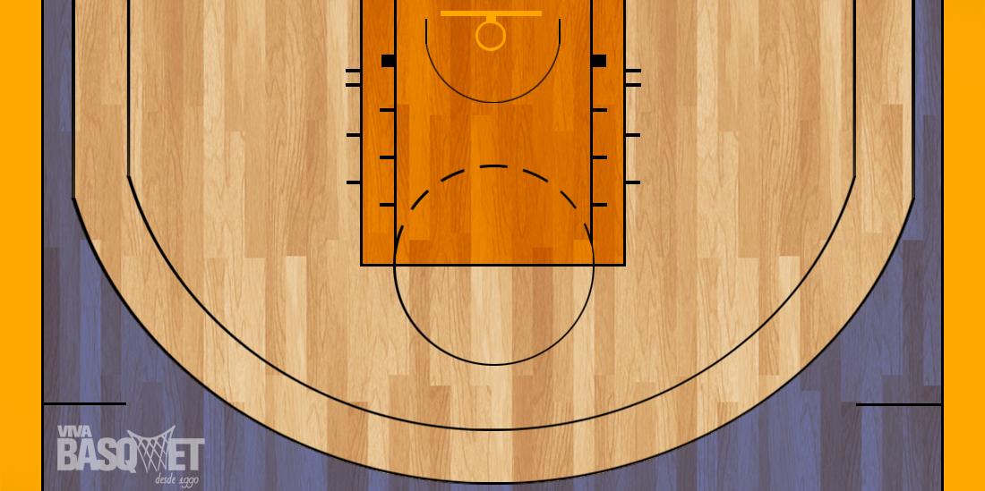 tiro de 4 en viva basquet