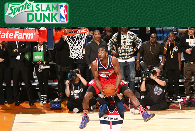 SLAM DUNK contest en viva basquet