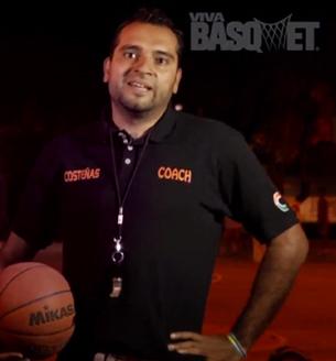 entrenamoento de basketball con viva basquet