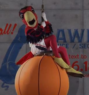parodia a Miley Cyrus de los altlanta hawks en viva basquet