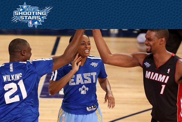SHOOTING STARS en viva basquet