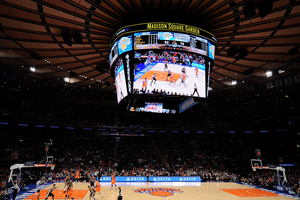 San Antonio Spurs v New York Knicks en el Madison Square Garden en viva basquet