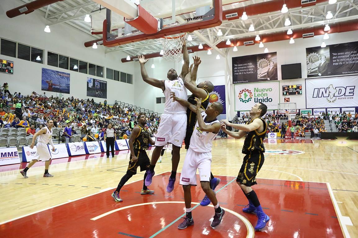ABEJAS VS FUERZA REGIA en semifinales LNBP en viva basquet