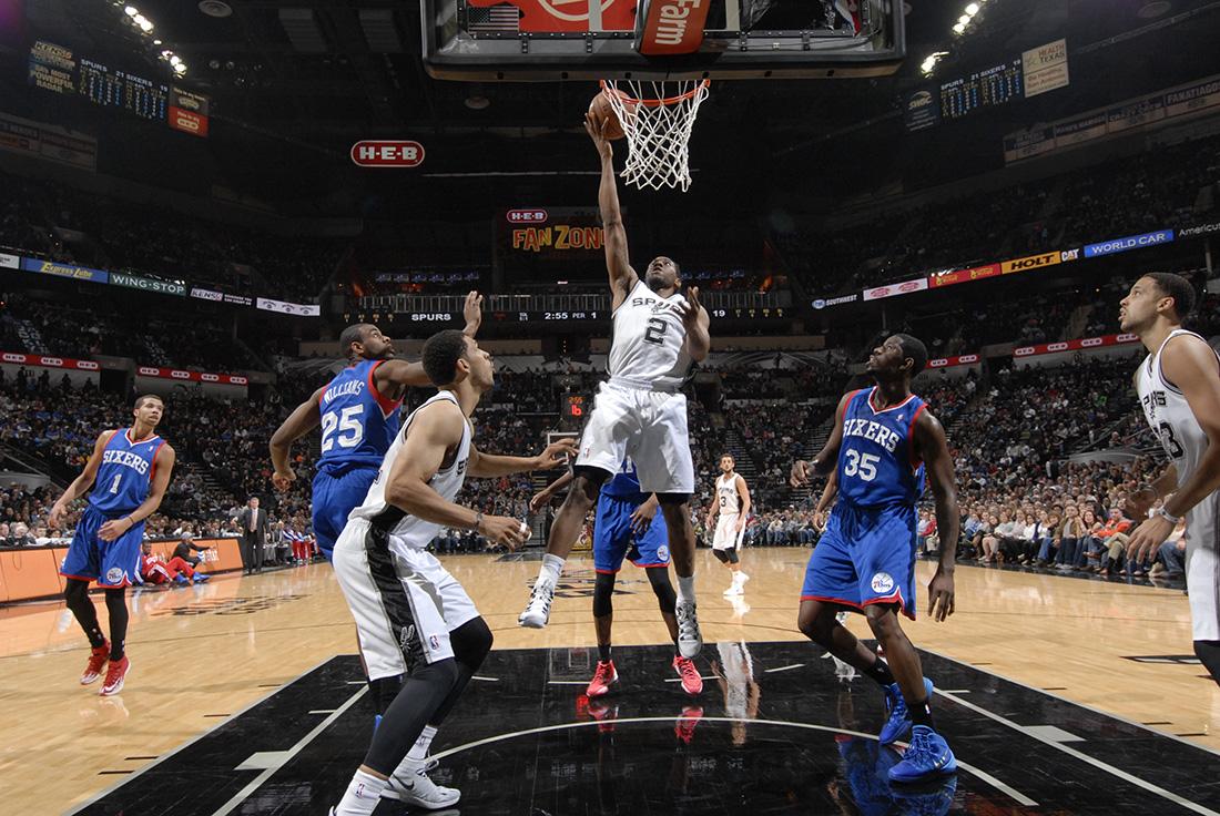 san antonio spurs y los sixers de Filadelfia en viva basquet