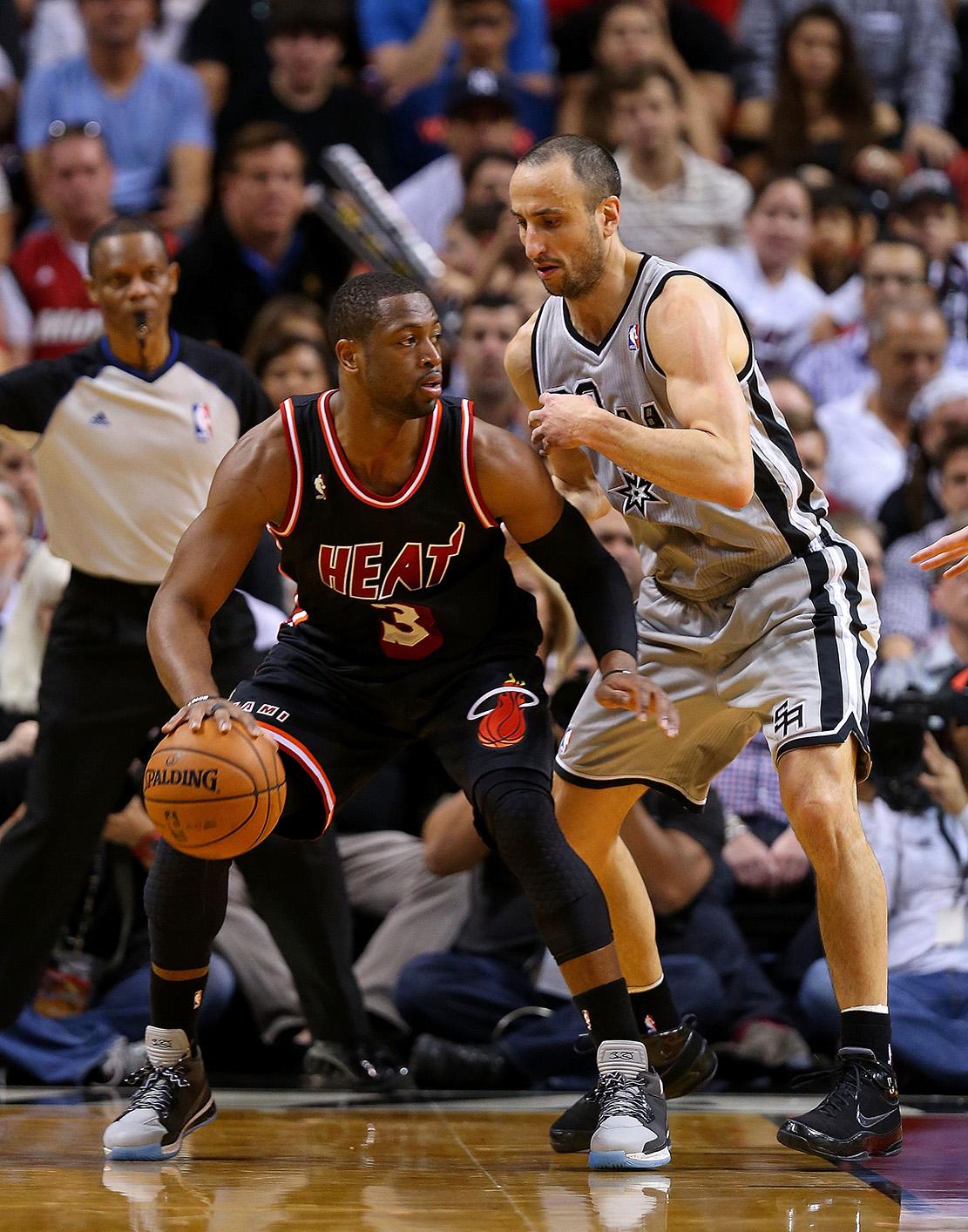 Dwyane Wade & Manu Ginóbili en viva basquet