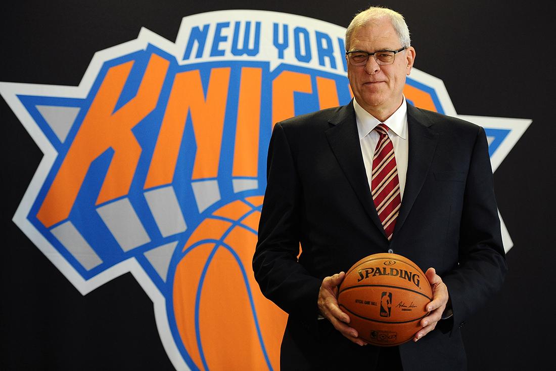 New York Knicks Press Conference con phil jackson en viva basquet