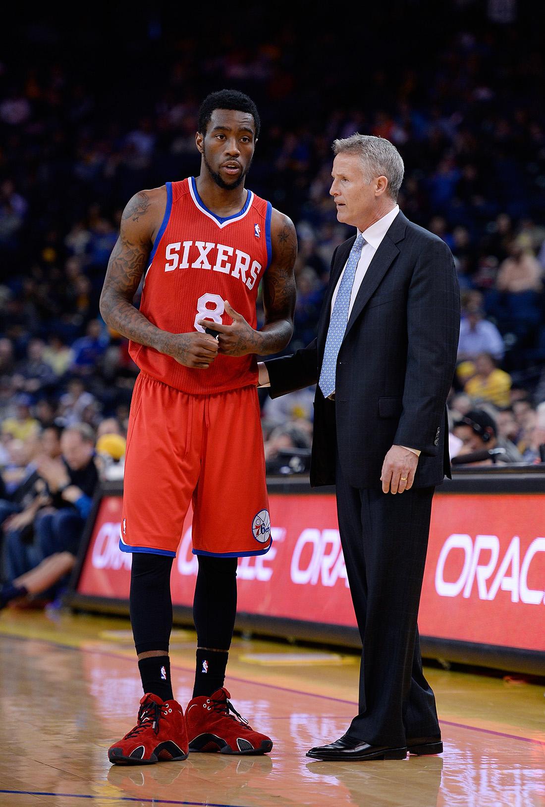 Brett Brown & Tony Wroten en viva basquet