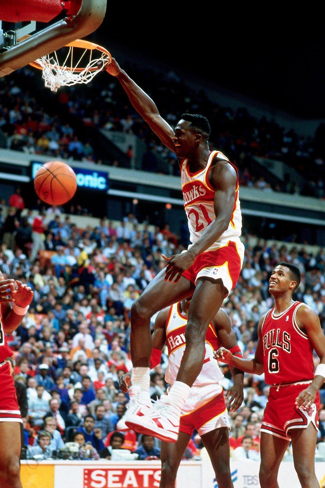 Dominique Wilkins en viva basquet