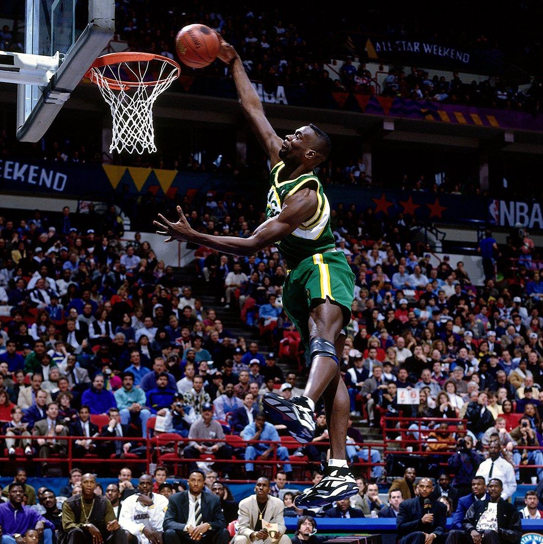 Shawn Kemp 1994 Slam Dunk Contest en viva basquet